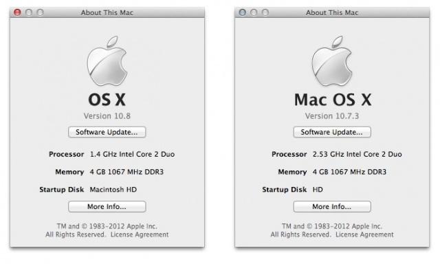 """Apple verzichtet bei Os X auf den Satz """"MAC"""""""