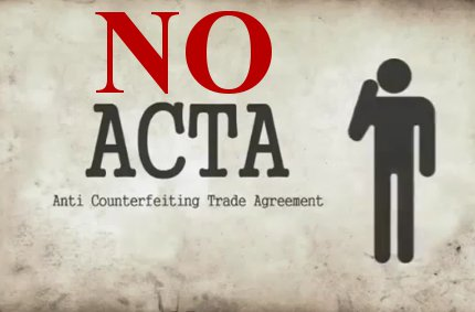 Gegen Acta - abkommen