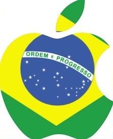 Brasilien, Teaser für Apple Logo
