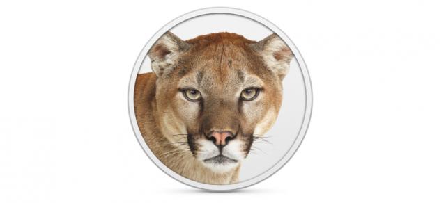 Os X 10.8 Mountain Lion veröffentlicht