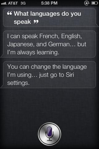 Siri kann bald Japanisch - iOs Update