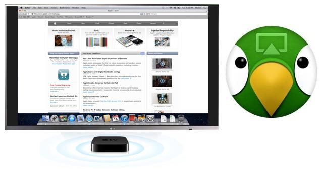 Apple News, Österreich Airparrot streamen von AppleTV Bildschirm