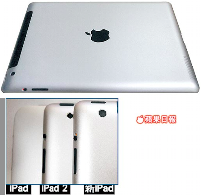 Apple News, Österreich iPad3, iPad 3 Kamera