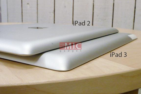 Apple News, Österreich Mac Detuschland Schweiz Info iPad 3 dicker