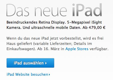 Das neue iPad kommt am 16 März MacMania