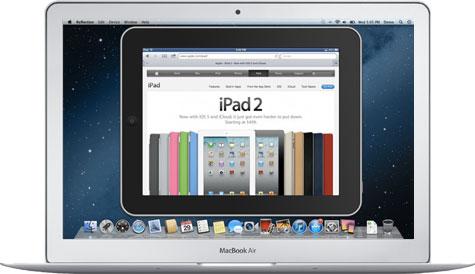 iPad und iPhone auf den Mac Portieren Screen