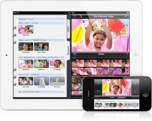 iMovie für das iPad und iPhone - mac News Schweiz Info