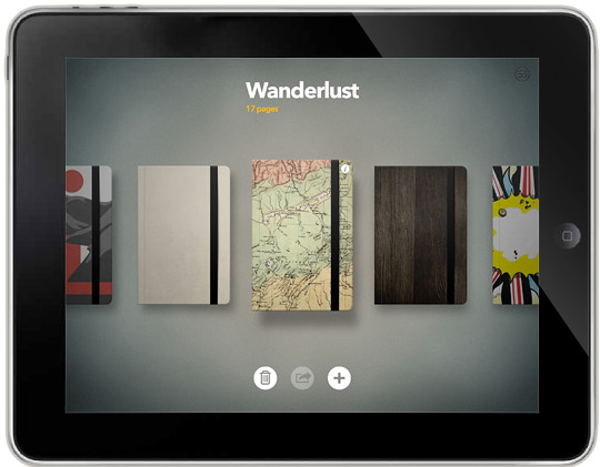 Paper App für das neue iPad MAc News Österreich