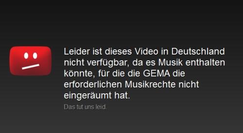 Apple News Österreich Mac GEMA, Youtube Info Schweiz