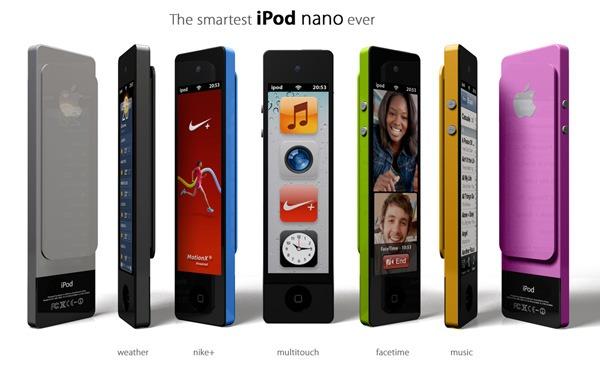 iPod nano Touch Konzept von Enrico Panello