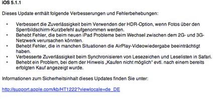 Apple News Österreich Mac Deutschland iOS 5.1.1 Mac, News, Info
