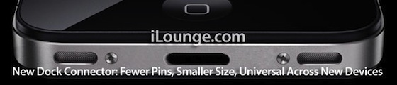 iPhone 5 kleinerer Dock-Connector Mac Info News