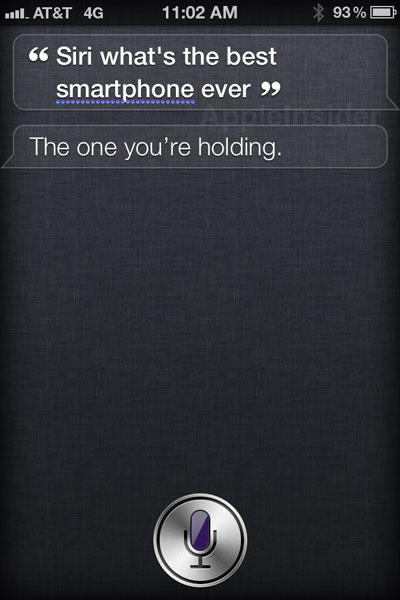 Apple News Österreich Siri Antwort bestes Smartphone der Welt