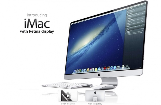 iMac Apple News Österreich Retina Display iMac 2012
