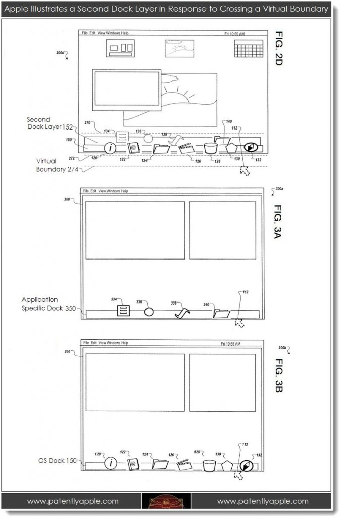 Apple, Patent, News, Mac, Info, Apple, Mac, Dock