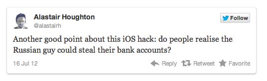 Twitter Zitat Hacker