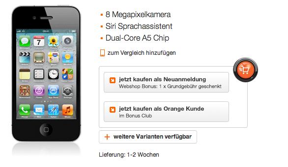 Apple, News, Österreich, Mac, Deutschland, Schweiz, News, Lieferzeit iPhone