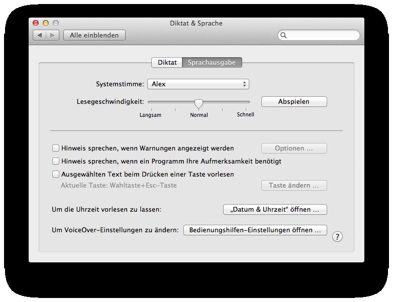 Apple News, Österreich Mac Deutschland Schweiz, Dikatation OS X Mountain Lion