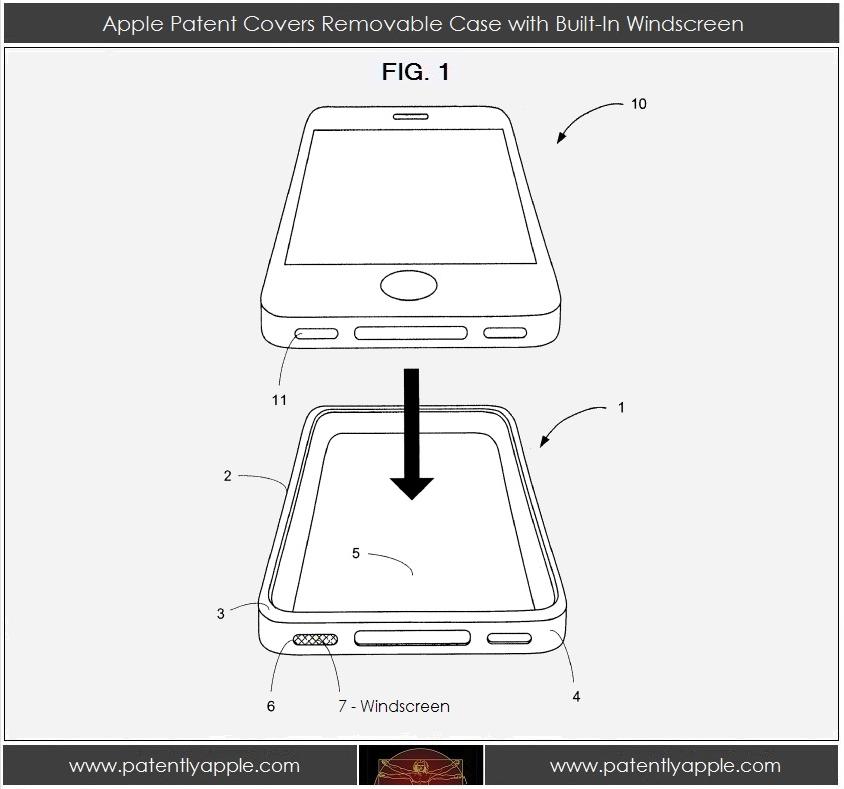 iPhone Case mit Windschutz neu
