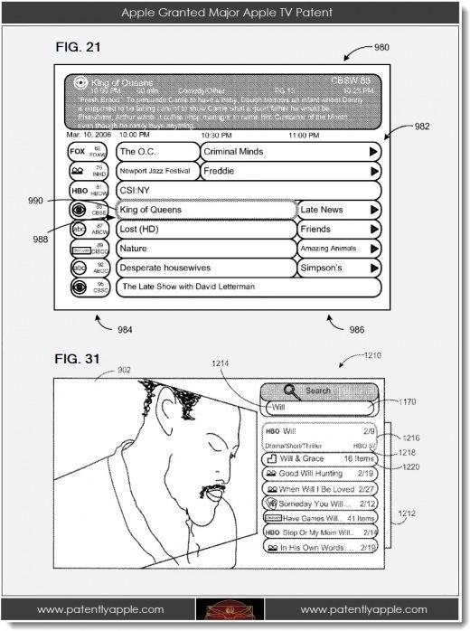 Apple Patent AppleTV News Österreich, Mac, Deutschland, Schweiz