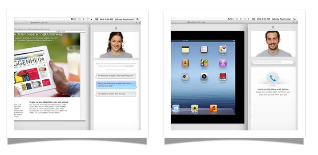 Neuer Service im Apple Store integriert