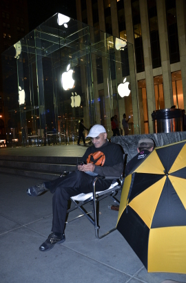 iPhone 5-Campen hat begonnen!