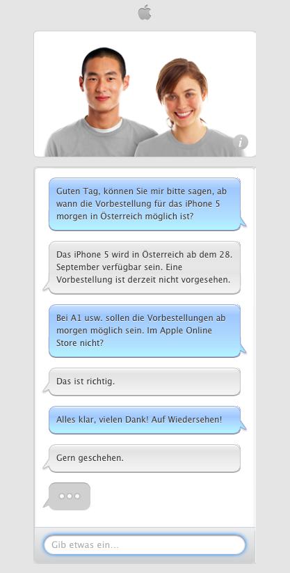 iPhone 5: Vorbestellung in Österreich nicht vorgesehen!