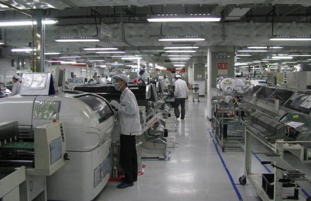 Automatisierung bei Foxconn schon im Gange!