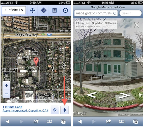 Google maps kann mit street view punkten macmania
