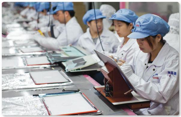 Foxconn Arbeiter