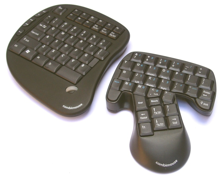 Ergonomische tastatur und maus  Combimouse: Neues Steuergerät vereint Maus und Tastatur - Macmania