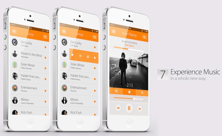 Die Details zu iOS 7 - wie es aussehen könnte!