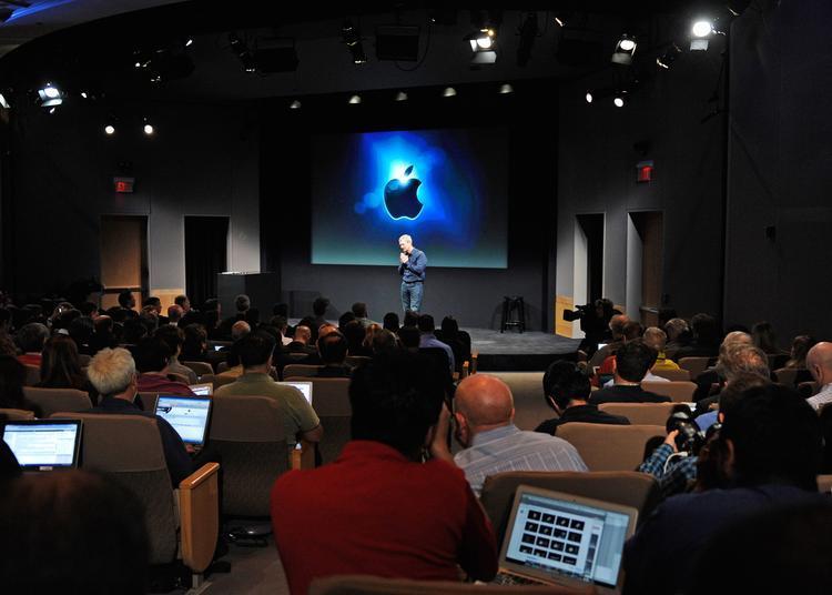 Warum findet der Apple-Event zuhause statt?