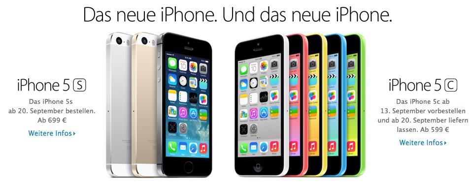 Preise iPhones