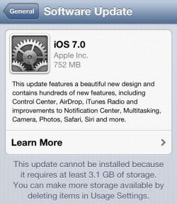 iOS 7-Update