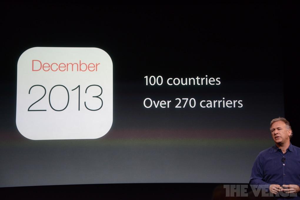 iPhone 5 Dezember