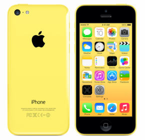iPhone 5C gelb