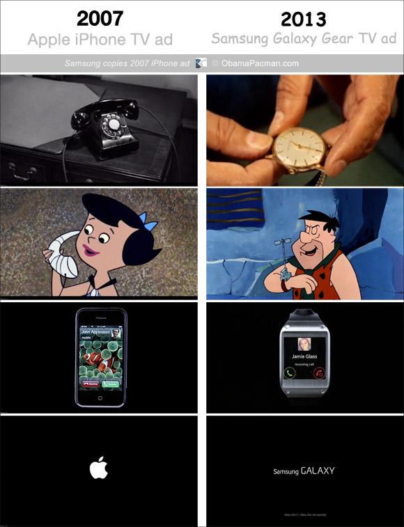 Samsung-copies-2007-iPhone-TV-ad