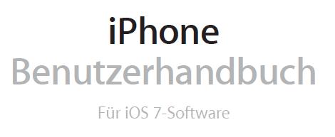 iOS 7 Handbuch