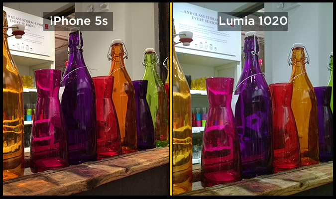 lumia-1020-iphone-5s-bottles