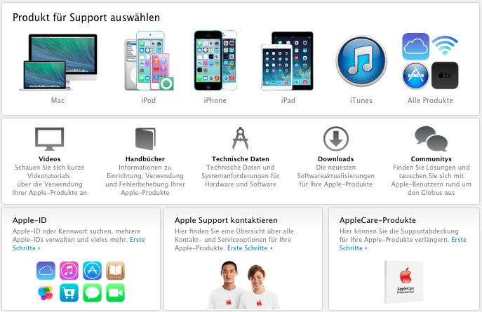 Apple Support alt