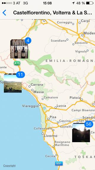 iOS 7 Ort 2