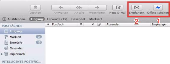 OS X Mavericks Mail