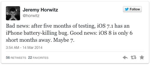 iOS 7.1 twitter