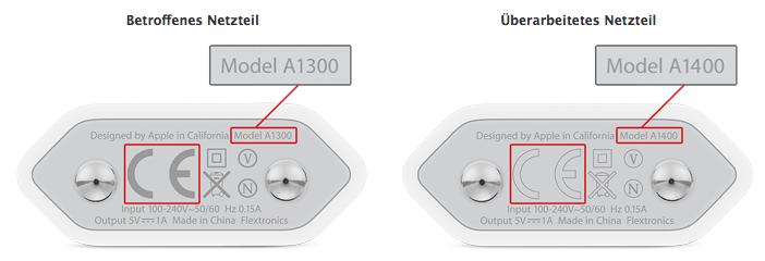 Apple USB-Netzteil