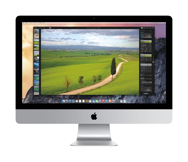 iMac iPhoto