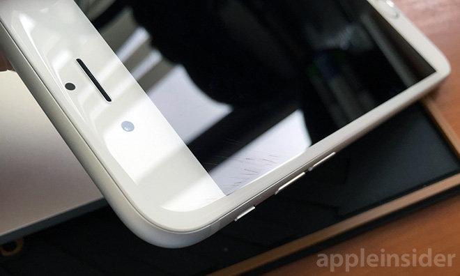 iphone screen zerkratzt