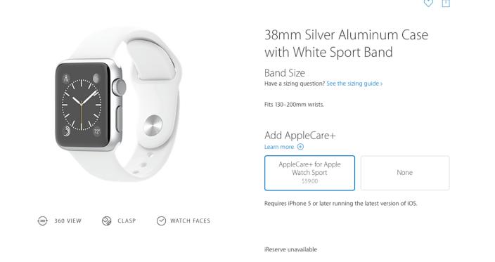 Appe care+ Apple Watch