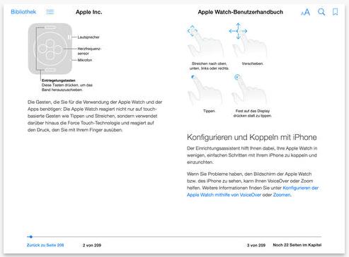 Apple Watch Benutzerhandbuch 2