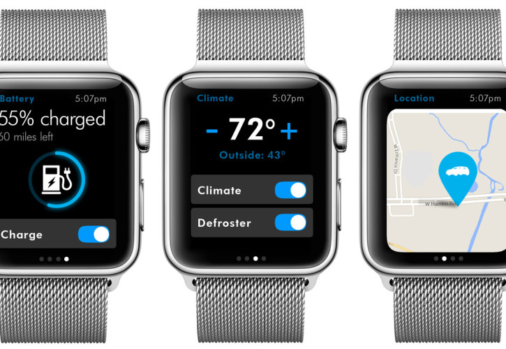 VW Apple Watch-App